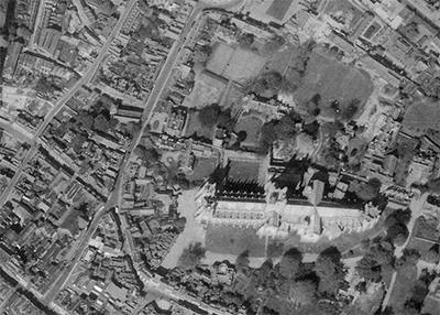 Image of Canterbury Cathedral, 1946